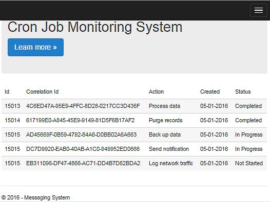 Cron Job Display Data with filter
